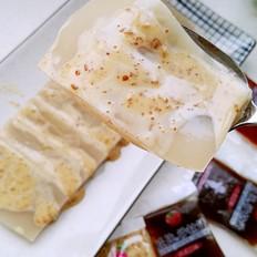 沙拉汁拌皮冻