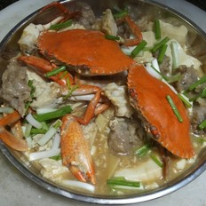 花蟹豆腐煲