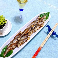 香煎刀鲚鱼
