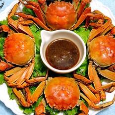 清蒸河蟹的做法[图]