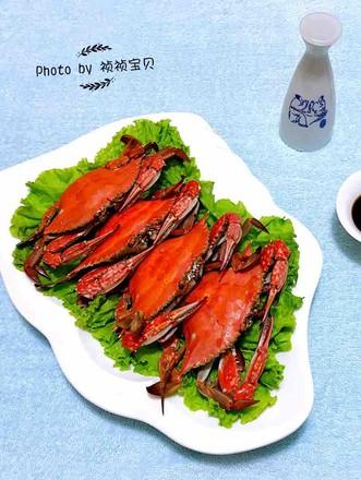 清蒸飞蟹的做法