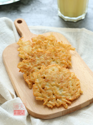 脆薯饼的做法