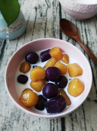 自制甜品--椰奶芋圆的做法