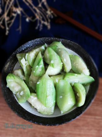 蒜蓉丝瓜的做法