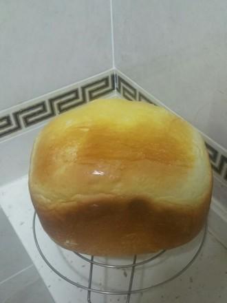 柔软香面包(面包机版)的做法