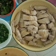 广式白切鸡