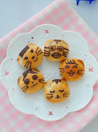 猫咪月饼的做法【步骤图】_菜谱_美食杰
