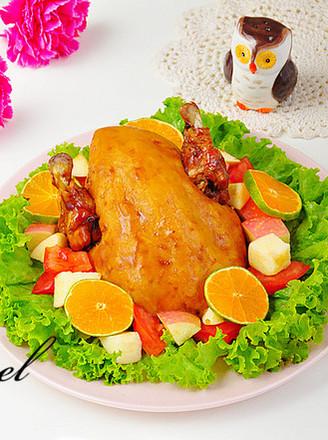 感恩节烤鸡的做法