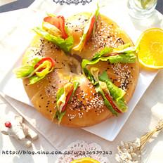 中种版花型汉堡的做法[图]