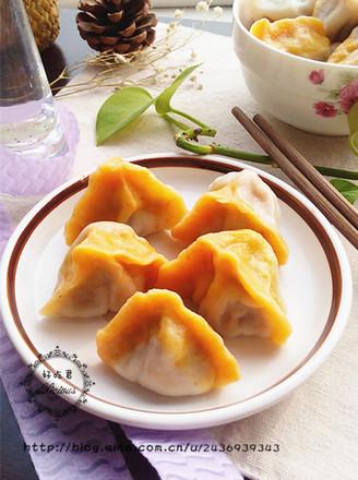 香菇木耳双色饺子