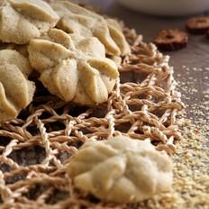 燕麦荞麦粉曲奇饼干