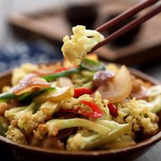 花菜最好吃的做法,非这道菜莫属啦! ——干锅花菜