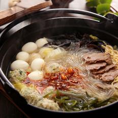 牛肉粉丝砂锅
