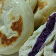 紫薯发面饼