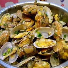 鲜香炒花蛤
