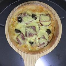 全麦牛肉丁披萨的做法[图]