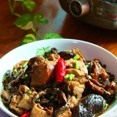 蘑菇炖鸡#苏泊尔第二季晋级赛#