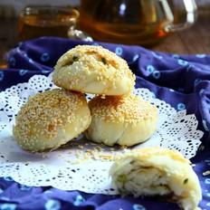 蟹壳黄烧饼的做法[图]
