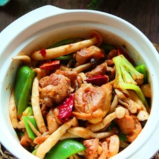 干锅香辣鸡块