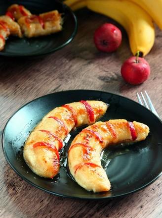 山楂烤香蕉的做法