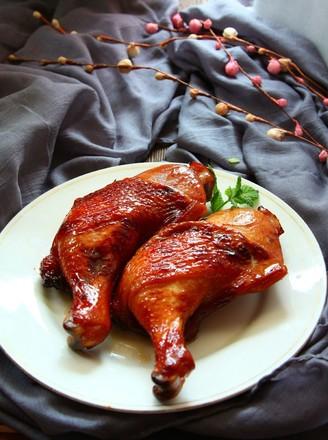 蜜汁叉烧烤鸡腿的做法