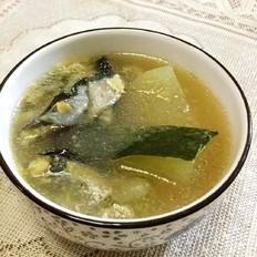 柴鱼片冬瓜汤