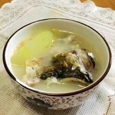 冬瓜鱼头汤