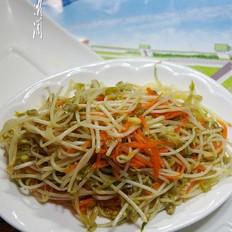 素炒绿豆芽