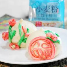 霸王超市戗面寿桃