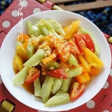 糖蒜黄瓜西红柿