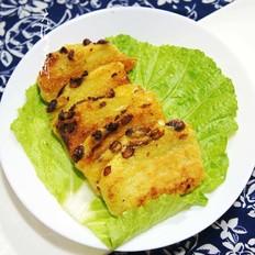 砂锅香煎东北年糕