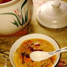 瓜蔬小米嚯嚯粥