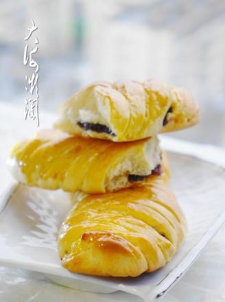 花式蓝莓酱面包