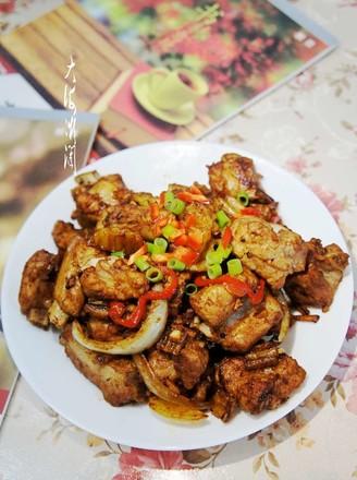 干锅排骨土豆片的做法