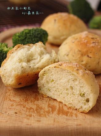 西兰花咸面包