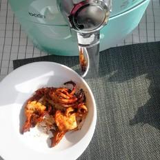 两步酱汁烤鱿鱼!