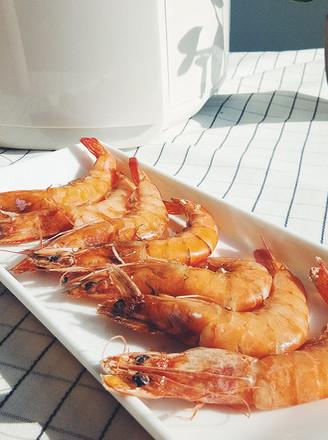 不一样的盐焗大虾的做法