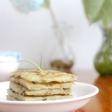 葱花土豆丝饼