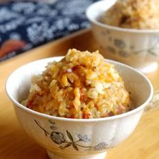 南瓜红枣糯香米饭