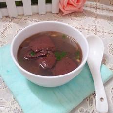猪血汤的做法[图]