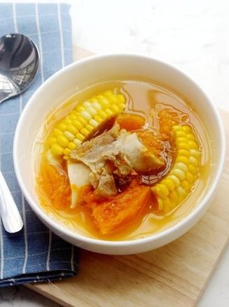 玉米南瓜汤的做法
