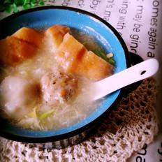 黑椒牛丸汤