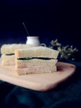 快手三明治的做法