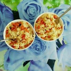 香菇胡萝卜炒饭