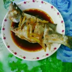 姜丝蒸鲈鱼