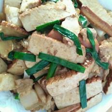 猪肉炒香干