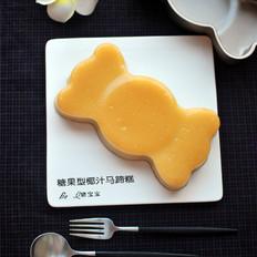 糖果型椰汁马蹄糕