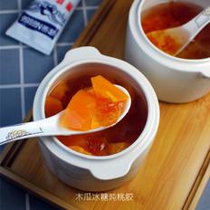 木瓜冰糖炖桃胶