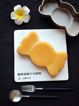 糖果型椰汁马蹄糕的做法