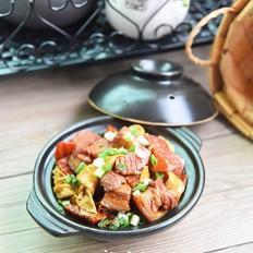 豆腐结烧肉
